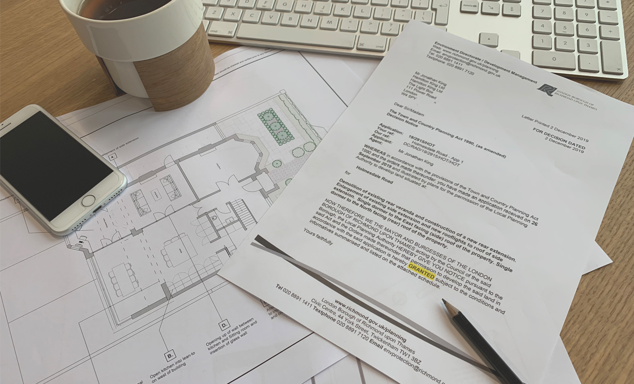 design and build chiswick